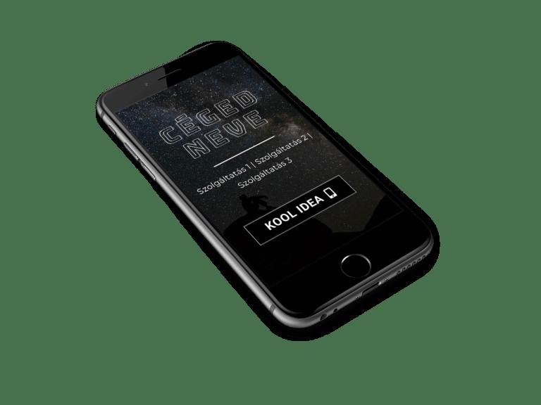 weboldal mobilra optimalizálása